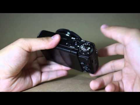 캐논 하이엔드 카메라 G7X 디자인 리뷰 영상