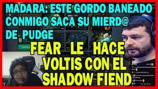 MADARA INSULTA A SMASH Y FEAR LE VOLTEA EL DOTA | DOTA 2 COSAS