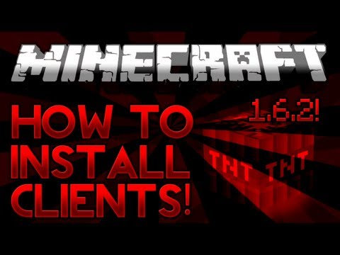 How To Install Minecraft 1.7.2 - 1.9 Hacked Clients!
