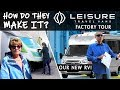 Our Most Epic RV Factory Tour Ever! Leisure Travel Vans