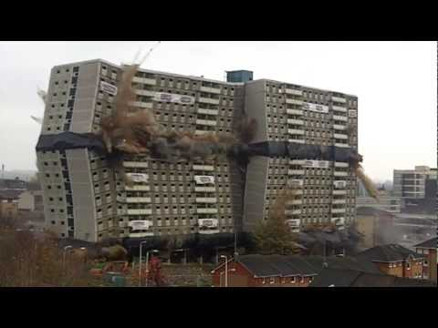 Demolition Glencairn Tower
