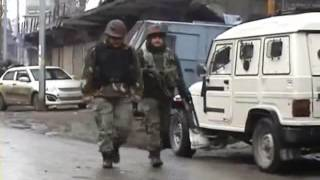 Live Video of Indian Army Encounter with Militants at Sopore in Jammu and Kashmir