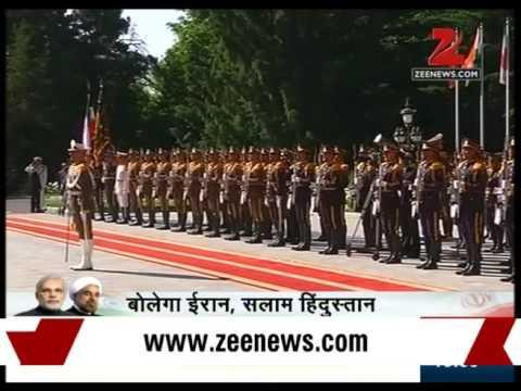 Second day of PM  Modi Iran Visit