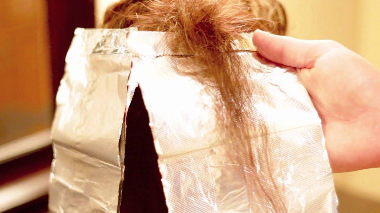 Шатуш на короткие волосы в домашних условиях пошагово в