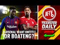 Arsenal Want Boateng or Umtiti To Fix Defence! | AFTV Transfe...