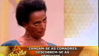 Barraco na televisão