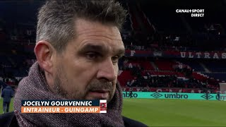 Paris / Guingamp : La réaction de Jocelyn Gourvennec