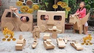 Trò Chơi Phú Ông Mua Nhà Xe ❤ ChiChi ToysReview TV ❤ Đồ Chơi Trẻ Em Kids Fun