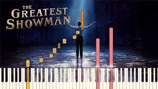 The Greatest Showman 34 A Million Dreams 34 Piano Tutorial Synthesia