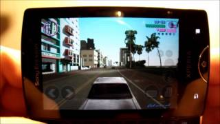GTA VC 1.2 Lite Sony Ericsson Xperia Mini Pro + Download