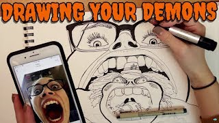 Drawing Your Inner Demons - Vol 1 Compilation // Monster Brain | Snarled
