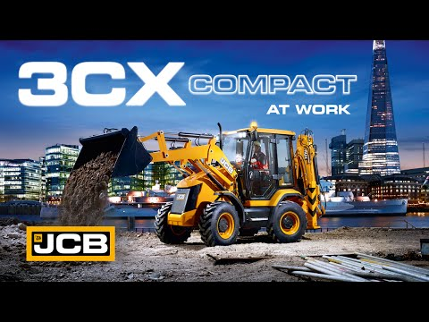JCB at work - 3CX Compact