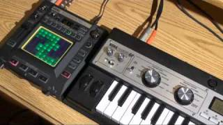 KAOSSILATOR PRO- Recording External Audio - In The Studio with Korg
