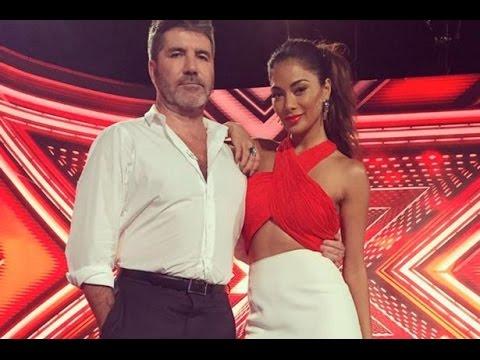 X Factor friction as Simon Cowell ribs Nicole Scherzinger over Lewis Hamilton