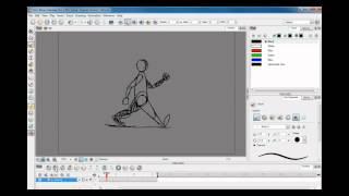 Tutorial animazione classica in Toon Boom - Ciclo di camminata HD