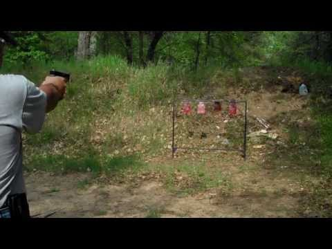 Glock 27 Shooting with Lone Wolf Barrel 40 - 9mm - TheFireArmGuy