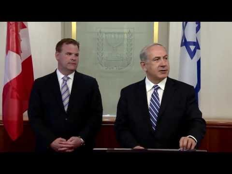 PM Netanyahu Meets with John Baird, Canadian Minister of Foreign Affairs