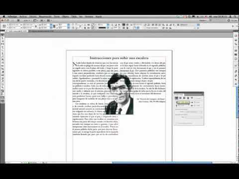 InDesign CS5 - Ceñir texto a objetos