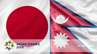 Asian Game Indonesia football match 2018 HIGHLIGHT All GOAL JAPAN 1 vs 0 NEPAL