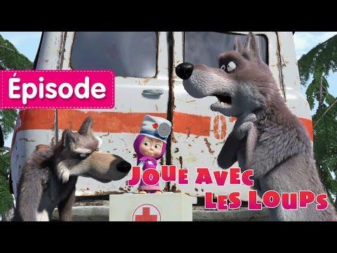 Masha et Michka - Joue Avec Les Loups  (Épisode 5)