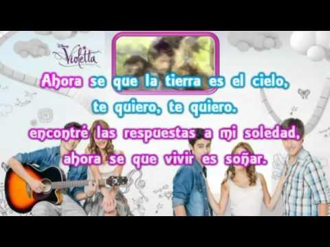 Violetta   Te Creo Karaoke Instrumental