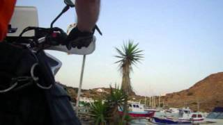 Patmos GR XTZ750 race to the sunset.wmv