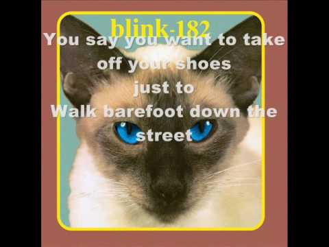 Blink-182 - Peggy Sue (LYRICS)