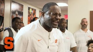Dino Babers Delivers Powerful Speech After Syracuse Beats Florida State