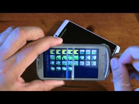 Sony Ericsson Xperia PRO: video recensione HDblog