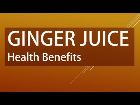 AMAZING GINGER JUICE - Health Benefits of Ginger Juice - Ginger for Good Health