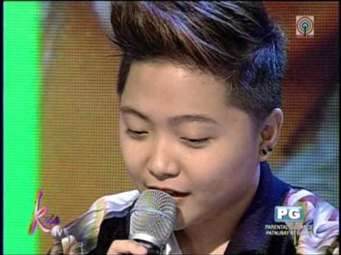 Charice dedicates song to mom, brother