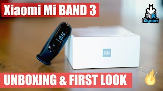 Xiaomi Mi Band 3 India Unboxing and First Look