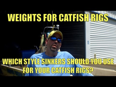Catfish Rigs: The Best Sinker Styles For Catfish Fishing