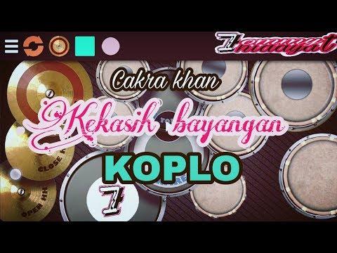 Kekasih bayangan Cakra Khan koplo android real drum kendang cover by 7ommy