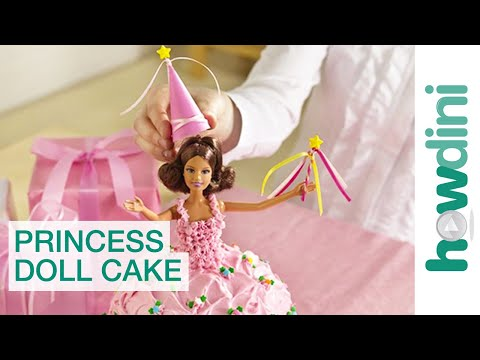 Princess cake - Barbie baba-torta recept