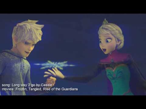 multicrossover} Elsa / Jack Frost x Hans x Pitch Black x Flynn { long way to go