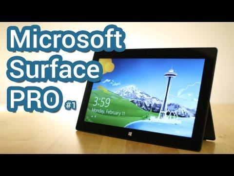 Обзор Microsoft Surface Pro, часть первая (1/2)