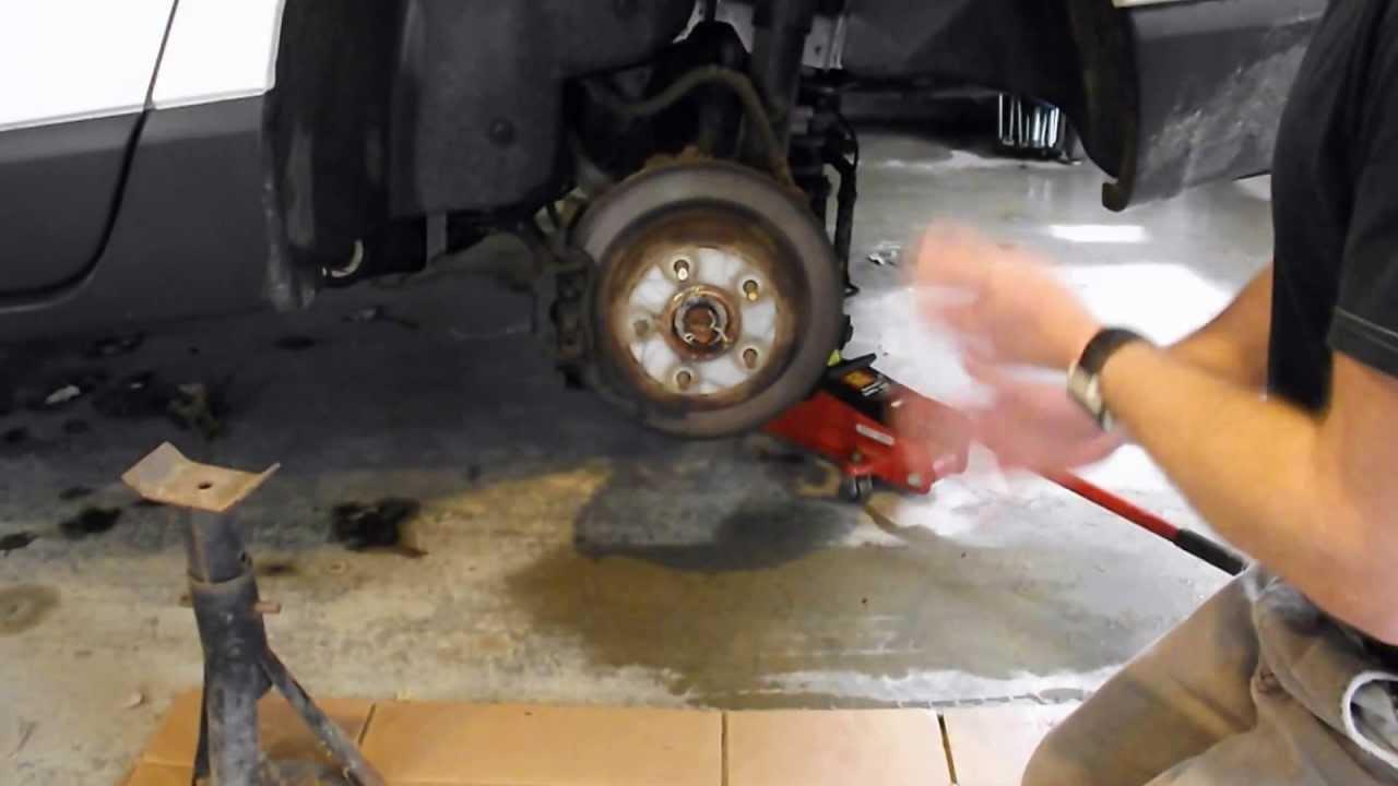 chrysler pacifica replace brakes lo diy