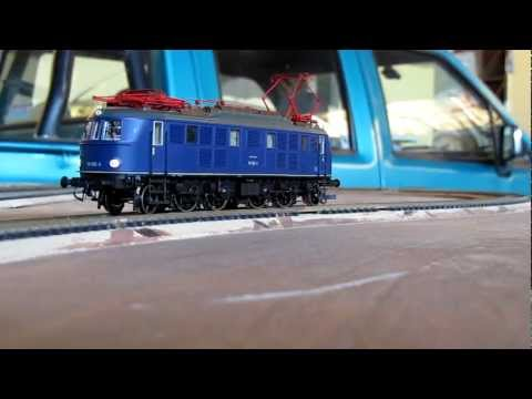 DCC Slow Movement - Trix BR 119