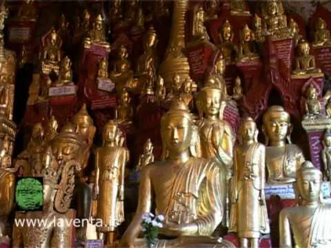The Thousands Buddha Of Pindaya Cave - Myanmar - Burma video