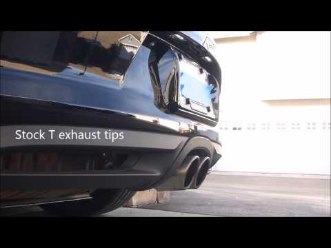 2014 Porsche Cayman S 981 Stock vs Fabspeed Exhaust Tips