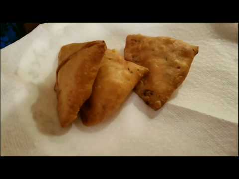 Homemade Vegie Samosa - Air fried Vs Oil Fried