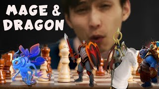 1% HP GAMING | MAGE & DRAGON BUILD (SingSing Dota Auto Chess)