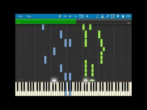 Taylor Swift - Dress - Synthesia Piano Tutorial