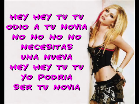 Avril Lavigne - Girlfriend (Letra Español) : 3