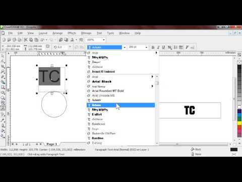 Tutorial Logo 3D - Corel Draw X3