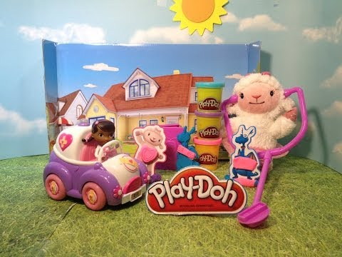 Play-Doh Disney Junior Doc McStuffins Doctor Kit a Doc McStuffins Play Doh Toy