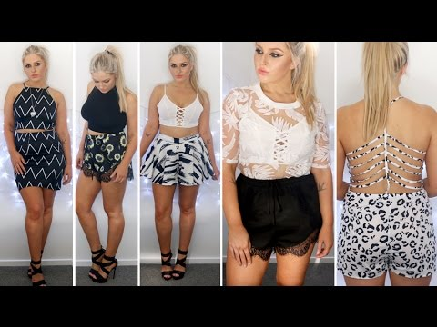 Cute Clothing Haul Cute Clothing Haul amp Try On s