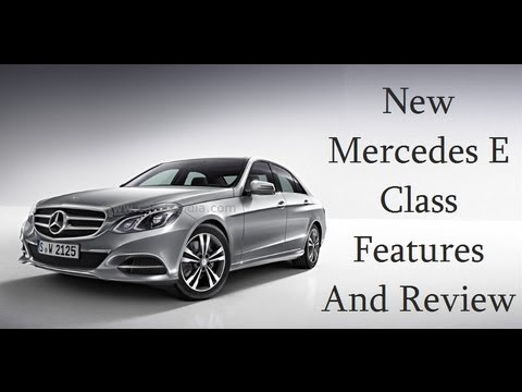 New Mercedes E Class Features Review And Walk Around