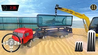Sea Animals Cargo Transporter Truck (by Entertainment Riders) Android Gameplay [HD]